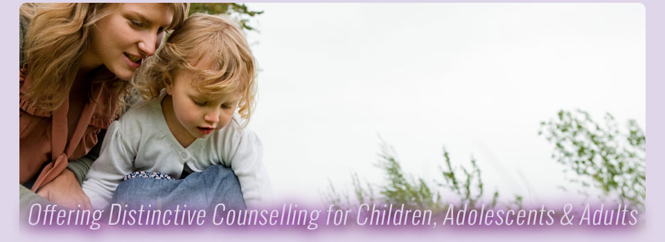 Offering Distinctive Counselling for Children, Adolescents & Adults - mother and child